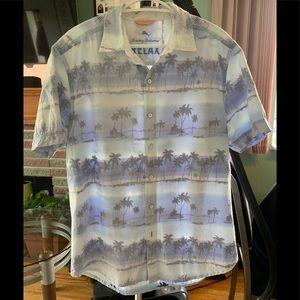 Tommy Bahamas UNIQUE Palm tree shirt
